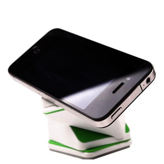 Universal 360 °magic Cube Car Mount White Phone Holder Bracket Stands  Smartphone GPS