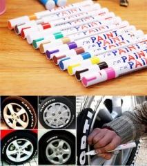 1PC Black Color Universal Waterproof Permanent Paint Marker Pen Car Tire Tire Tread Rubber Metal