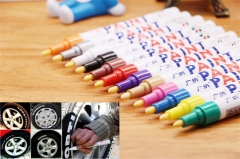 1PC Red Color Universal Waterproof Permanent Paint Marker Pen Car Tire Tire Tread Rubber Metal