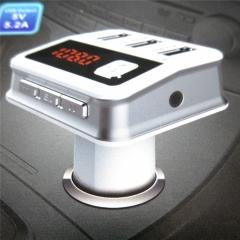3 USB Port Stereo Sound Music LED Display Bluetooth Car MP3 Kit