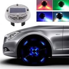 Solar Power LED Car External Light Wheel Light for Car