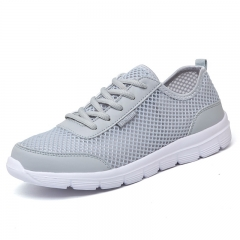 breathable supper light women shoes gray 35