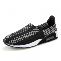 woman shoes air max sport shoes knit sneakers women black 35