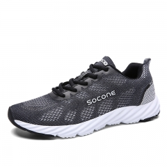 Womens Sport Sneakers  Lightweight Sneakers Women Breathable running Shoes black 36