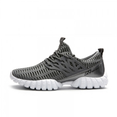 Breathable Running Shoes for Men Summer Sport Shoes Men Trainers Comfort Sneakers Men Walking Shoes gray 39