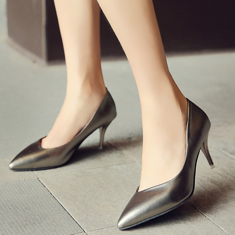 c7a5c0705b172a ... Pumps Women s Shoes Nude Pointed Toe High Heels simple fashion office  shoes champagne 39  Product No  99884. Item specifics  Seller SKU QKM58   Brand