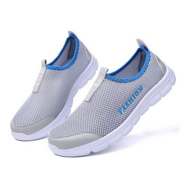 men causal sport shoes, running shoes fashion sneakers PN:606 gray 44