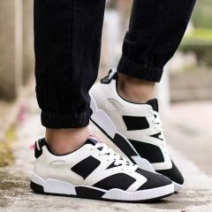 Men Shoes  casual shoes 2016 New Fashion Low flats Breathable Shoes Men Lace Up Shoes 802 black 39