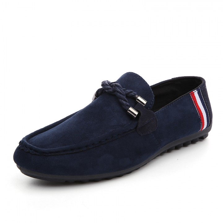Men s Moccasins Loafers Flats Suede Leather Shoes casualShoes Men Flats Men  lace up Flats WF- 0cee0e2f2bf1