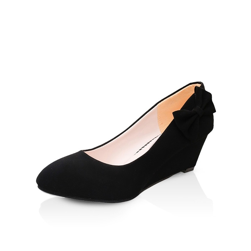 6aa3ae8cab1 New fashion Women wedge shoes Pumps Party Shoes Woman elegant party woman  office shoes black 39  Product No  159620. Item specifics  Seller  SKU WLLS-907 ...