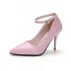 Woman Pointed Toe High Heels pumps Women office shoes pink 34