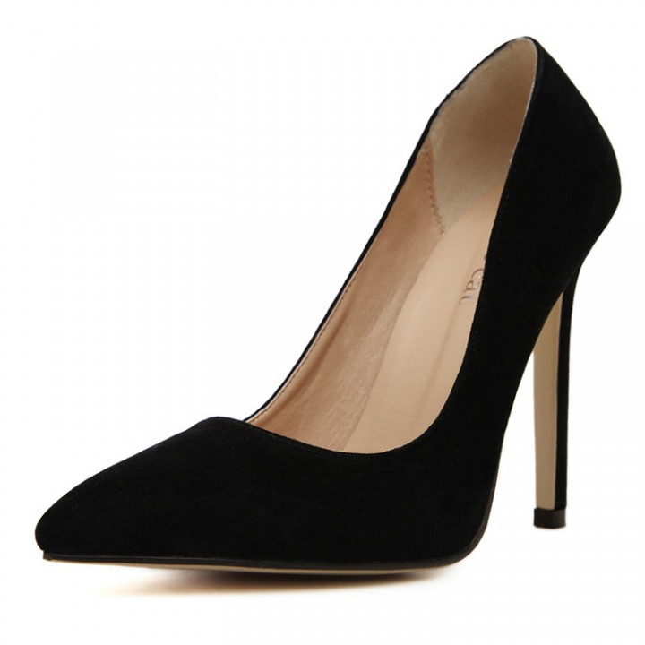 Woman Pointed Toe High Heels pumps Women office shoes black 39