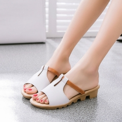 2017 New style women sandals fashion  causal Bohemia  sandals shoes white 36