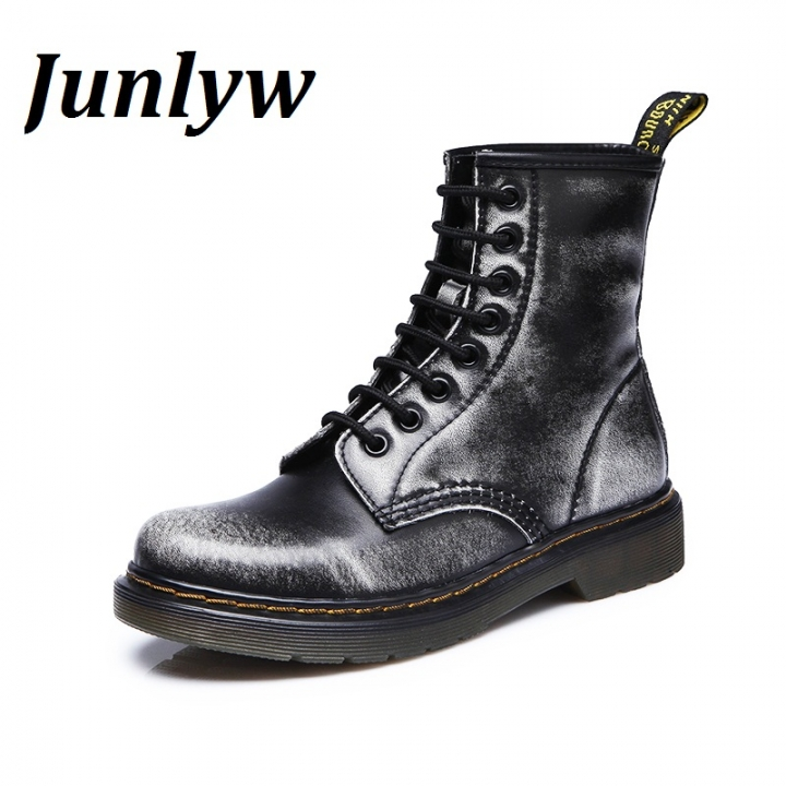 Junlyw Fashion Ankle Boots  men's Motorcycle Martin Boots men Oxfords men Shoes grey 42