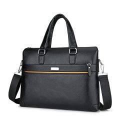 Men bags Laptop Tote business bag Briefcases Crossbody bag Shoulder Handbag Men's Messenger Bag black one size