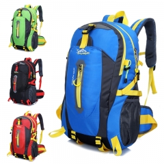 Men & women Waterproof Climbing Backpack   Outdoor Sports Bag Travel  Hiking Backpack  Trekking Bags blue one size