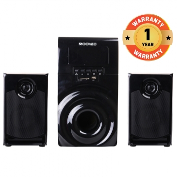 MOOVED MV-L3 - 2.1 Multimedia Speaker System - Black black 25W+5W*2 MV-L3