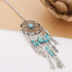 Women Trendy Necklace Bohemia Vintage Necklaces As Picture As Picture