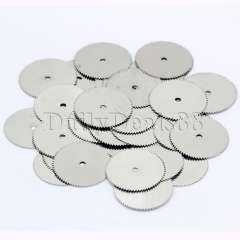 20Pcs 22mm Wheel Blade Disc Saw Wood Cutting Cutter for Dremel Rotary Tool Craft normal 22mm