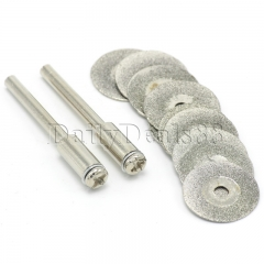 10Pcs 16mm Diamond Grinding Wheel Dremel Saw Mini Circular Saw Dremel Rotary Tool normal 16mm