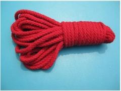 10M Bondage Rope Fetish Body Bondage Restraints Slave Sex Toys for Couples Flirting Sex Products red one size