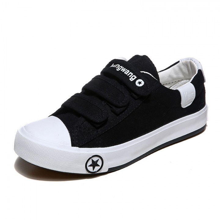 Sports Leisure Shoes Lovers Small White Shoes Sneakers Shoes Canvas Shoes for Men/Women Black 42