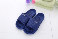Cool couples home anti-skid bathroom slippers slippers summer summer slippers for men and women pink 43