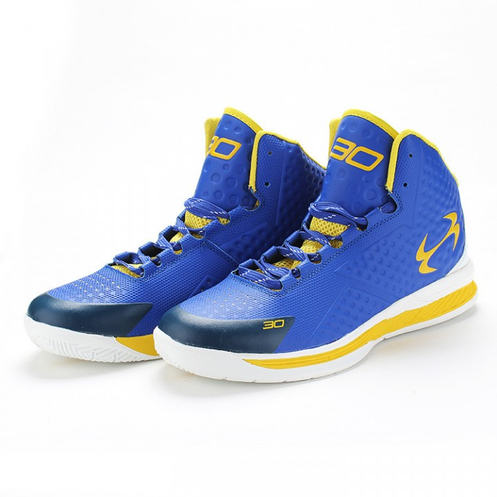 fbf558b2684 In the NBA champion shoes basketball shoes of the second generation Blue 41