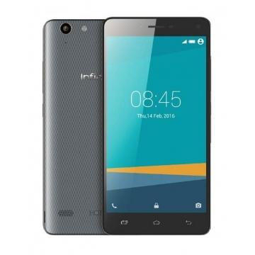 "INFINIX Hot 3 LTE X553, 5.5"" Screen, 16GB ROM, 2GB RAM, 13MP Camera, Smart Mobile phones Grey"