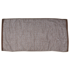 High Quality Bamboo Fiber Quick-Dry Antibacterial Hand Towel 33cm*72cm brown 33CM*72CM