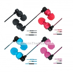 (Special Offer)Unique Appearance Earphones (YKON MK-1) Multicolor