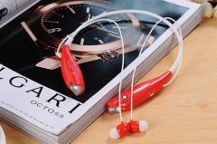 Bluetooth Wireless Headset Stereo Headphone Earphone Sport Handfree Universal red
