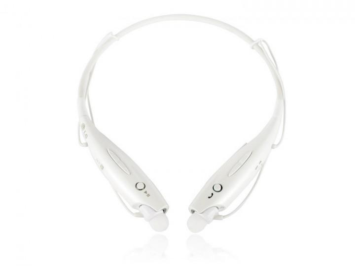 Bluetooth Wireless Headset Stereo Headphone Earphone Sport Handfree Universal white