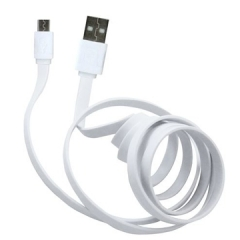 USB Data Cable Universal Android Data Cable white