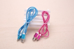 High quality lightning data & charging cable line FOR Android/iphone5/5s/6/6s 100cm+Rose +Android