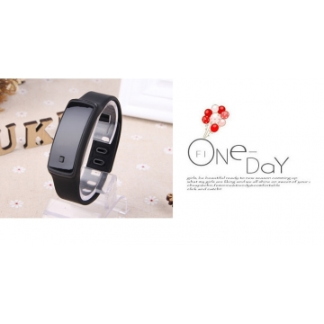 Christmas Gift LED Digital Bracelet Watch Sport Silicone Strap Wristwatch for Men Women Smart watch black 170mm-288mm