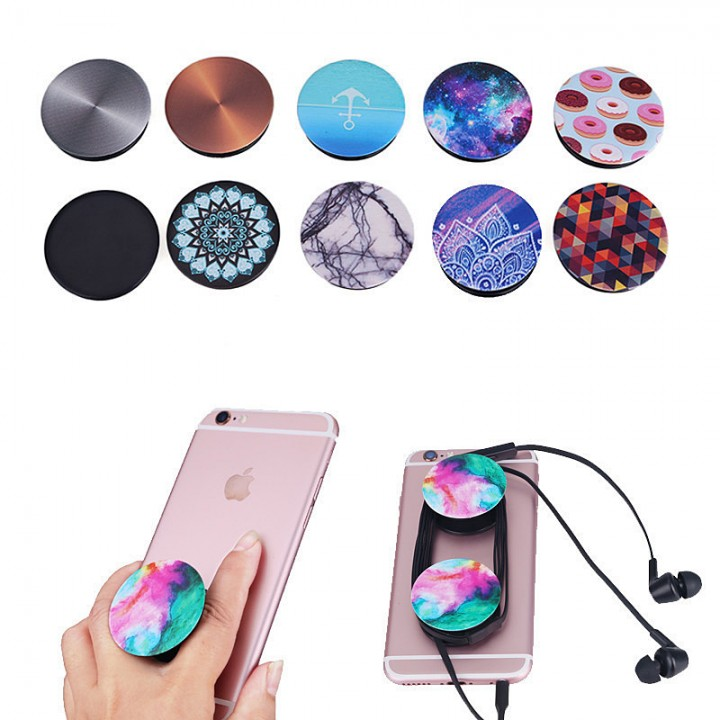 NEW PopSocket Pop Sockets Grip Stand Phones Tablet Holder for iPhone Samsung white be in common use