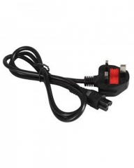 Power Cable 1.5 meters for laptop - Black