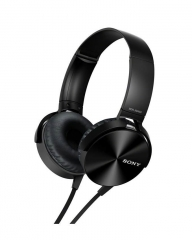 Sony Extra Bass headphones - Black black