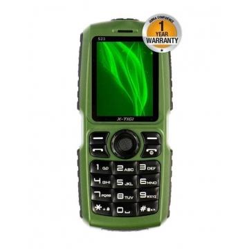 X-TIGI S23 - 10000mAh Universal Powerbank Phone - Black & Green green