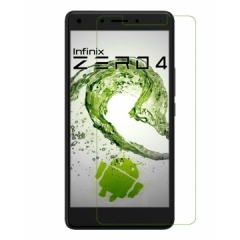 Infinix Zero 4 2.5D Hardened Universal Tempered Glass Screen Protector - Clear, 5.5 Inch clear 5