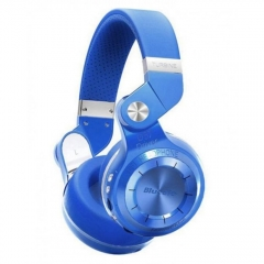 Bluedio T2+ Wireless Bluetooth 4.1 Stereo Headset TF Card / FM Function - Blue blue