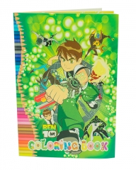 Ben 10 Coloring Book Multi-Colored A5