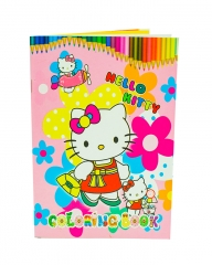 Hello Kitty Coloring Book Multi-Colored A5