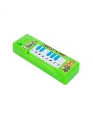 Small Kids' Plastic Piano- Green