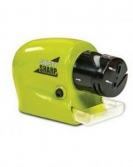 Swifty Sharp Motorized Knife Sharpener Lemon Green & Black One Size