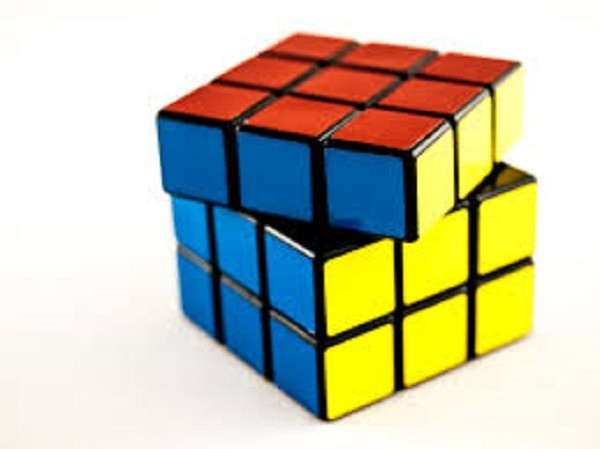 Magic Rubic Cube MULTI COLOURED one size