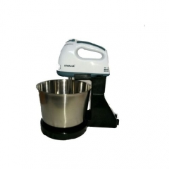 Electric Mixer/ Whisker with mixing bowl - Multicolour MULTI COLOR one size