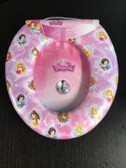 Disney Princess Kids Padded Toilet Seat Soft Potty Training Toilet Trainer