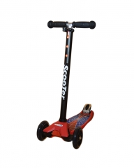 Scooter Three Wheeled Rocket Scooter for kids - Spiderman